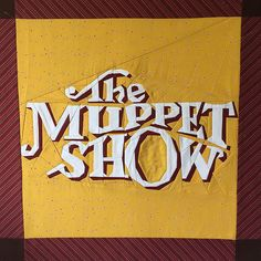 The Muppet Show, a free paper pieced pattern by Katie Olson. For personal & non-profit use. Find it on fandominstitches.com.