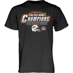 Oklahoma State Cowboys 2015 Cactus Bowl Champions T-Shirt – Black YES.....I need one of these!!!