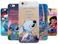 Stitch Quote Cute Child Phone Cover Case fits Apple Iphone 5 5c 6 s 6 plus se in Mobile Phones & Communication, Mobile Phone & PDA Accessories, Cases & Covers | eBay