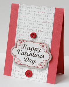 Valentine #2 from Gretchen McElveen.  Instructions on the blog!