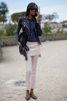 STREET STYLE SPRING 2013: PARIS FASHION WEEK - Further proof of the fashion set's latest take.