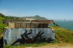 SF the Marin Headlands by ROA !, via Flickr