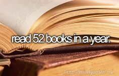 52 books in 52 weeks. Challenge accepted. #2014