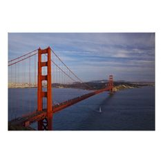 The Golden Gate Bridge from the Marin Posters