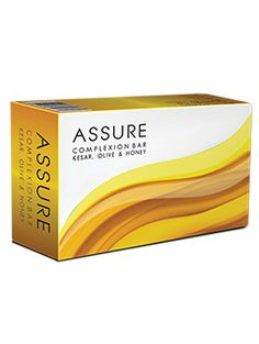 Assure Complexion bar is a nourishing and moisturising bathing bar that cleanses the skin leaving it clean, soft and supple. It is enriched with brightening extracts of Kesar, Olive and honey that enhances the complexion.