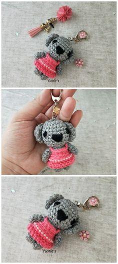 Koala amigurumi , crochet koala
