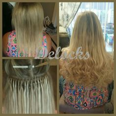 Rebeccas 3/4 head of our platinum line tiny lock hair extensions. This hair is double drawn russian remi and is reuseable upto 1 year plus. With this method of extension there is no heat, no glue and no plaits causing no damage your natural hair. #longhair #hairextensions #mixedblondes #tinylocks #hairextensions #northeast #durham #middlesbrough #darlington #newcastle #england