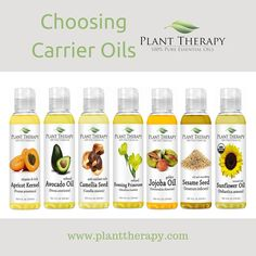 Choosing Carrier Oils - which carrier oil is best for ...