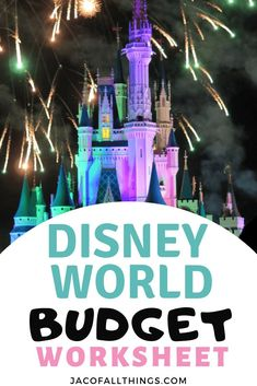 The most comprehensive Disney World budget worksheet for planning the most magical trip! Perfect for your family vacation! This Disney budget worksheet is a must have! Cheap Disney Vacation, Disney On A Budget, Disney World Vacation Planning, Disney World Florida, Walt Disney World Vacations, Disney Resorts, Disney Planning, Disney Trips, Vacation Ideas