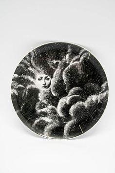 Plate  Designer :Piero Fornasetti