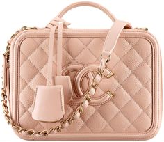 The Chanel Vanity Case has always been a part of Chanel's tradition. And there…