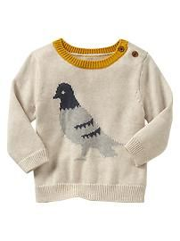Pigeon sweater - Perfect for Thanksgiving Day!