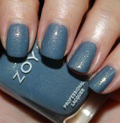 A slate blue called skylar; just used it--love it.