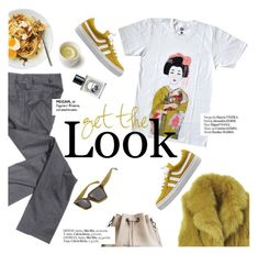 """""""get the look"""" by punnky ❤ liked on Polyvore featuring Diane Von Furstenberg, Haute Hippie and Diptyque"""
