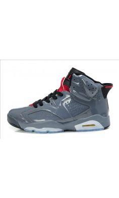 1d71c43d143bfc Nike Air Jordan Shoes 6 VI Retro Pattern Grey-Bright Grey