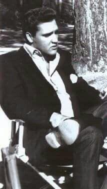 Elvis On The Set of 'Kid Galahad' ~ 1961