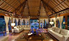 Villa Taman Sorga is an open plan designed 6-bedroom villa set in superb lush tropical Balinese gardens perfect for families.