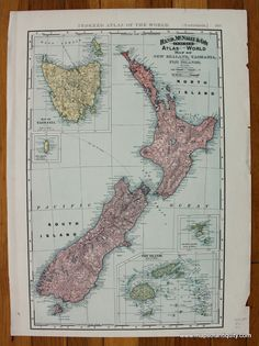 35 Best Maps of Australia the Pacific Ocean and Oceanic area