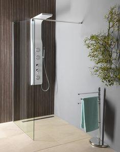 WALK-IN zástěna jednodílná k instalaci na zeď, 900x1900 mm, sklo čiré : SAPHO E-shop Bathtub, Program, Bathroom, Standing Bath, Washroom, Bathtubs, Bath Tube, Full Bath, Bath