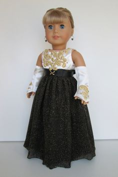 American girl doll clothes for Christmas Party by AtelierTamieNY, $239.00