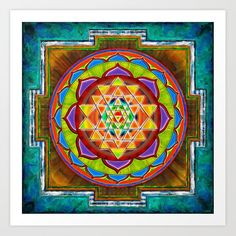 Sri Yantra, Intuition, Wassily Kandinsky, Basketball Poster, Wall Art Prints, Canvas Prints, Foot Prints, Poster Print, Glass Wall Art