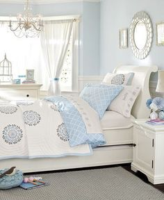 beauty in blue & white!  pottery barn kids