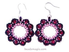 Berry Juice Earrings