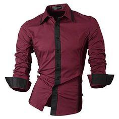 Jeansian Men's Slim Fit Long Sleeves Casual Shirts 8015 W... http://www.amazon.com/dp/B00OOER420/ref=cm_sw_r_pi_dp_zc9hxb0GRMDJ4