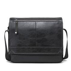 Men's Messenger Bags For Men Cross Body Bag Men's Bag Shoulder Bags Business Casual Ipad Bag, Mens Travel Bag, Handbags For Men, Messenger Bag Men, Casual Bags, Zipper Bags, Leather Men, Cross Body, Crossbody Bag