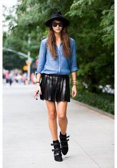 Streetlooks à la Fashion Week de New York printemps-été 2015 | Glamour