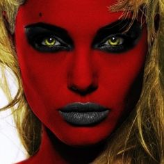 Little Devil halloween makeup, devil makeup, kids costume, kids ...
