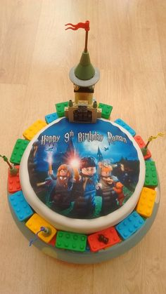 Lego Harry Potter Birthday Cake