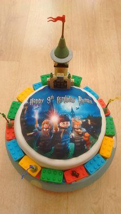 Lego Harry Potter Birthday Cake