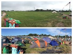 Glastonbury 2015 the difference a few days make!