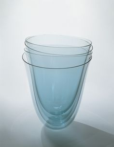 Sculpture by Bert Frijs, 1994. | Corning Museum of Glass #glass #Contemporary #sculpture #cup