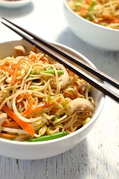 How to make Stir Fry Noodles using whatever you have in the fridge! www.recipetineats.com