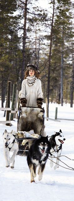 The Fall 2015 Ralph Lauren Collection campaign was captured in Finland , in the Kakslauttanen Arctic Resort chosen for its natural beauty and light.