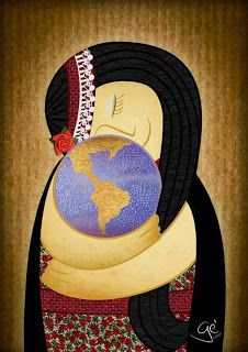 1st of August  - Pachamama's day in southamerica! Mother Earth.. hace a nice day!
