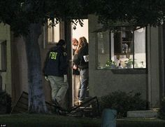 Radicalized US Muslim clashed with his Jewish co-worker over religion two weeks before he and Pakistani wife killed 14 at office holiday party using huge arsenal of weapons and pipe bombs  FBI agents have discovered nearly 5,000 rounds of ammunition, a dozen pipe bombs and hundreds of tools for making improvised explosive devices at this residence
