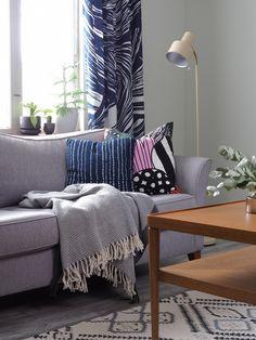 Someajatuksia Throw Pillows, Bed, Home, Decor, Toss Pillows, Decoration, Stream Bed, Decorative Pillows, Decor Pillows