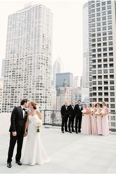 A Chicago Real Wedding / Two Birds Photography