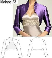 Resultado de imagen para moldes de chaquetas para mujer