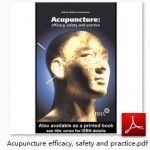 Acupuncture efficacy, safety and practice PDF Download