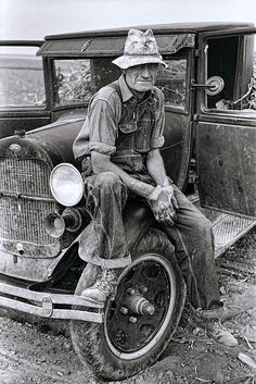 Itinerant Kansas Farmhand  1935  by Daniel Hagerman - Itinerant Kansas Farmhand  1935  Photograph - Itinerant Kansas Farmhand  1935  Fine Art Prints and Posters for Sale
