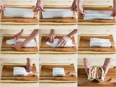 How to Wrap a Sandwich in Wax Paper. How to use wax paper to wrap a sandwich for your lunch. This method may not be the way Grandma or the deli does it but it holds together well enough to toss the whole sandwich in your backpack and is. Sandwich Packaging, Packaging Box, Bread Packaging, Packaging Design, Bakery Packaging, Ideas Sándwich, Best Sandwich, Sandwich Ideas, Sandwich Box