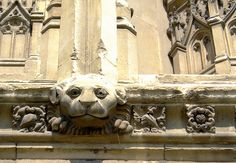 Detail, south-west porch, Canterbury Cathedral 4
