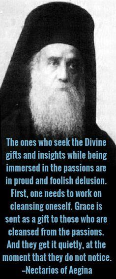 Saint Nektarios of Aegina Catholic Quotes, Religious Quotes, Christian Faith, Christian Quotes, Saint Quotes, Orthodox Christianity, Orthodox Icons, Spiritual Life, Roman Catholic