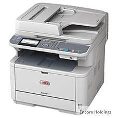 3a36890c051 Okidata MB401 MB461 Monochrome Laser Multifunction Printer 35 2400 x 600 dpi