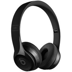 Beats Solo³ wireless on-ear headphones ($221) ❤ liked on Polyvore featuring accessories and tech accessories