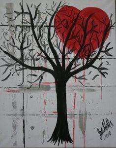 heart moon tree